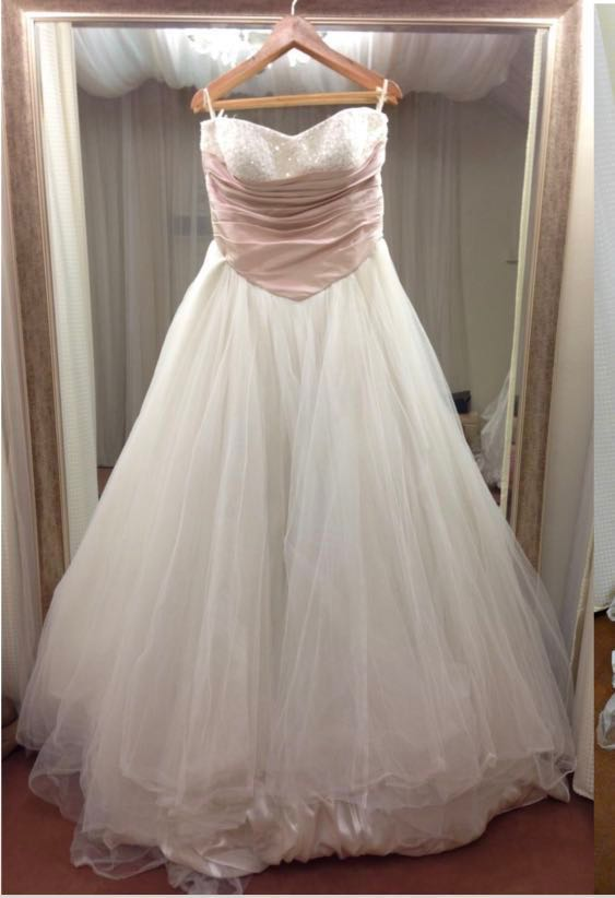 Used Wedding Gown Big Size
