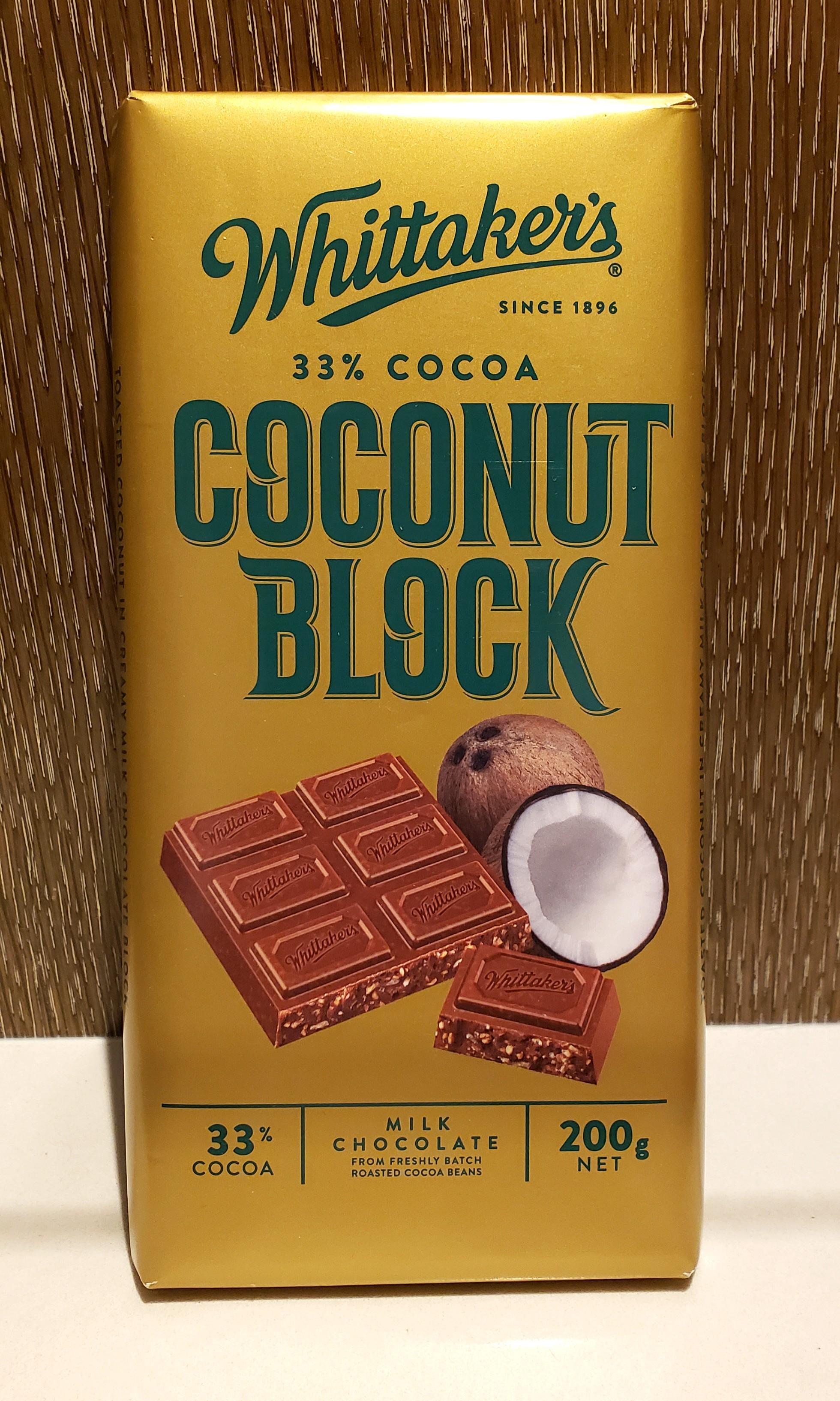 來自新西蘭Whittaker's coconut chocolate #MTRcwb #MTRkt #MTRcentral