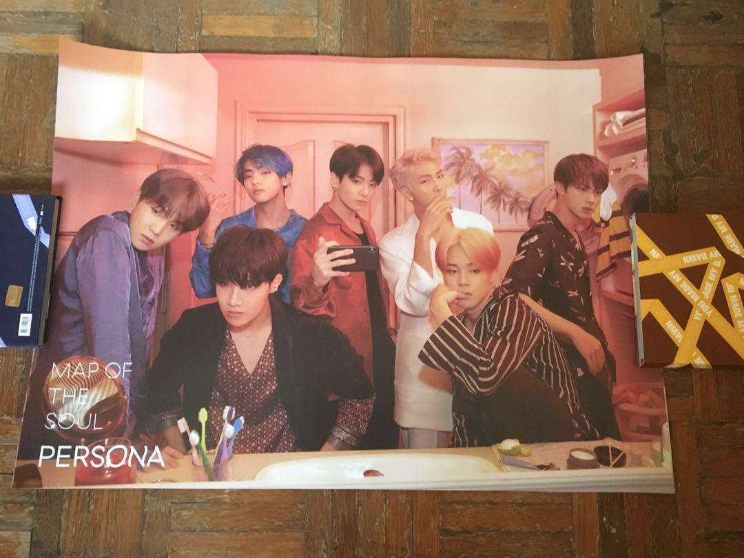 [WTS] Unsealed BTS Map Of The Soul Persona Albums