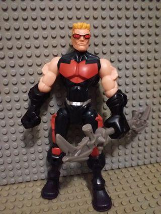 MARVEL FIGURE Avenger Hawkeye 鷹眼 多關節可動 眼見咁多