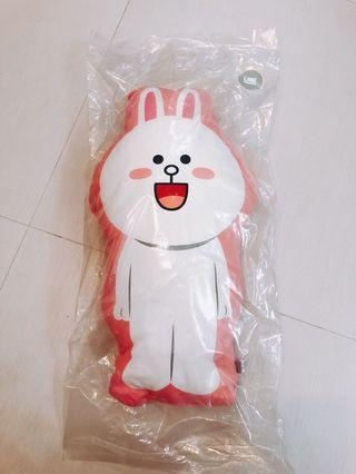 Line Friends Cony Cushion 兔仔咕𠱸 攬枕