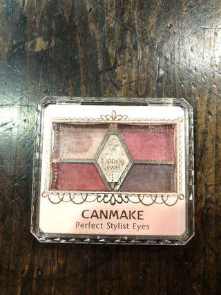 🚚 Canmake 完美設計眼影盤 五色眼影盤 14