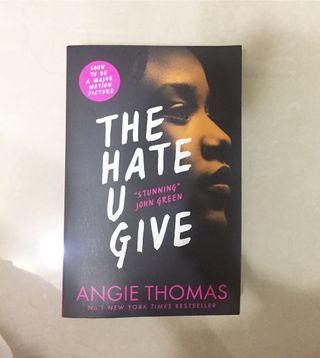 The Hate You Give 英文小說
