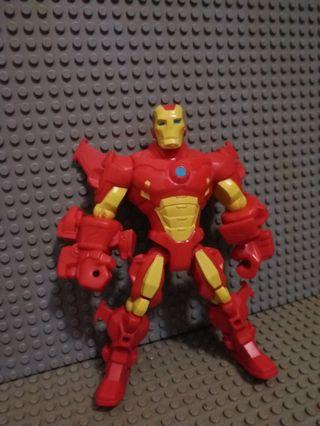MARVEL FIGURE Avenger Ironman 鋼鐵俠 多關節可動 眼見咁多