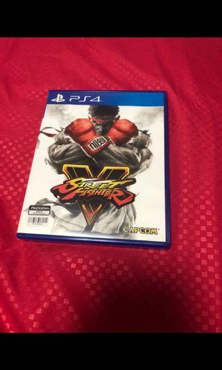 🚚 Street Fighter V sf5 for PS4