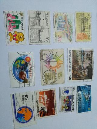 S'pore stamps