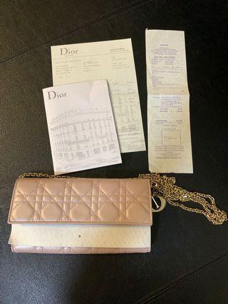 🚚 Lady Dior Large Wallet