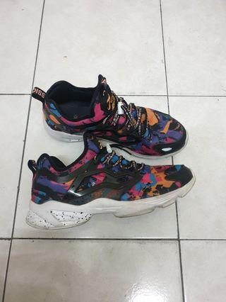 Authentic Reebok Fury Adapt AC Black Mix #TheCurve