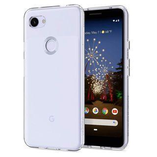 Google Pixel 3A XL Spigen Liquid Crystal Clear Case Cover