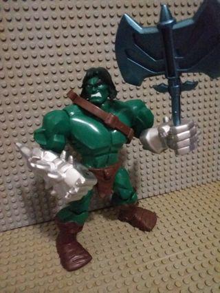 MARVEL FIGURE Avenger HULK SON 綠巨人之子 Skaar 俠醫 多關節可動 眼見咁多