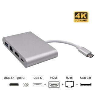 USB C To HDMI 4 IN 1 Hub Adapter