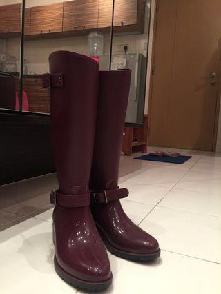 Knee High Wellington Boots