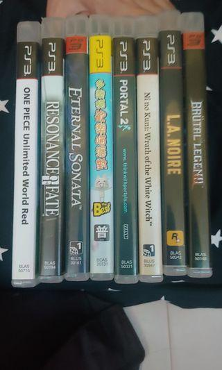 [Clearance Sales] PlayStation 3 Game (read description)