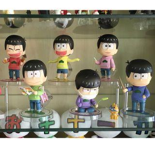 (Set) Osomatsu-san Nendoroid - All 6 Nendoroids (All With GSC Bonus)