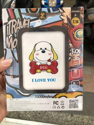 🚚 Dog 10000mAm 行動電源
