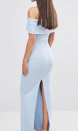 City Goddess Bandeau Maxi Dress