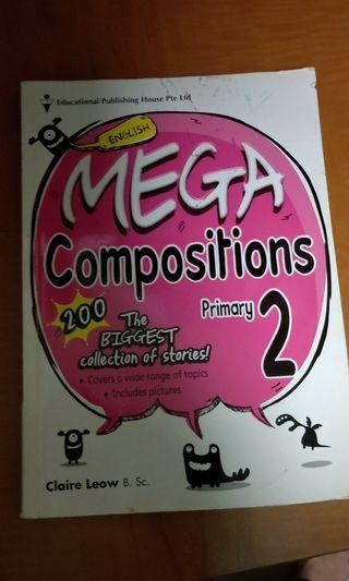 🚚 Book- Mega composition writing for P2 *Relative new*⁴