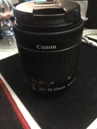 Canon kit lens 18 - 55mm