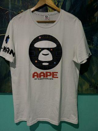 By bathing aape
