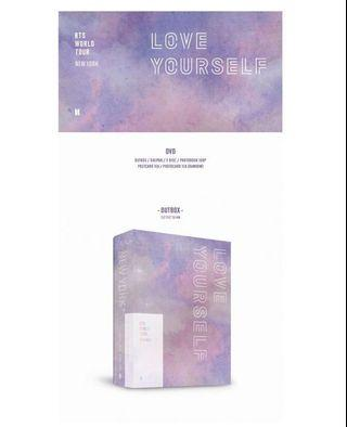 <LOOSE ITEM> BTS LOVE YOURSELF IN NEW YORK DVD