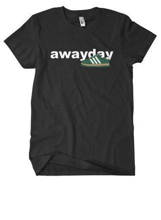 T-shirt away day