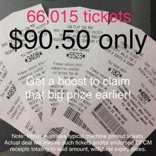 CPCM Tickets 66k Deal