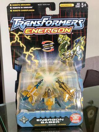 Transformers Energon Basic Figure: Energon Saber Mini-Con 3-Pack