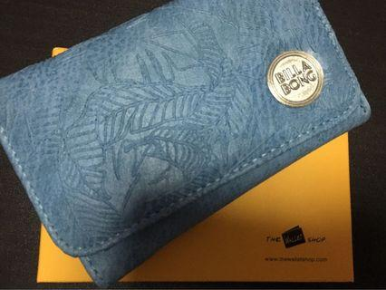 🚚 Billabong Light blue Wallet - FREE LUGGAGE TAG