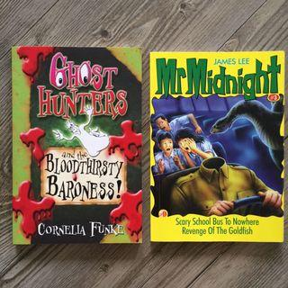 Ghost hunters, Mr Midnight & free notebook