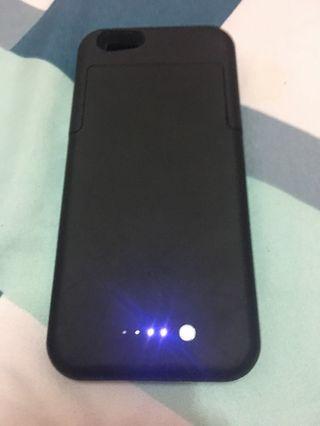Iphone 6/6S case + external battery