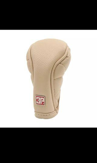 (Price reduced) Manual Car Shifter Gear Shift Knob Skid proof Cover Protection Beige