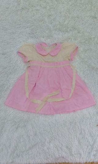 Dress pink cream