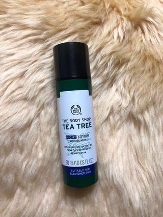 The Body Shop Tea Tree Night Lotion (FREE ONGKIR!)
