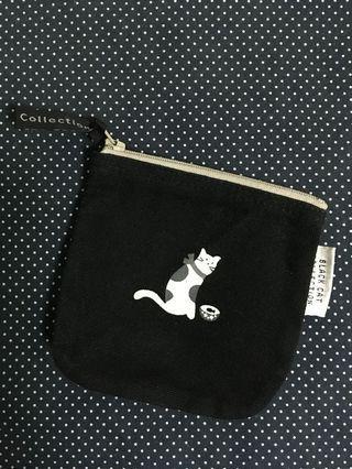 🚚 知音文創 黑貓小方包 收納袋 零錢包