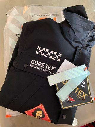 [New]OFF-WHITE X GORE-TEX  Front Jacket  [not lv the ten 10]