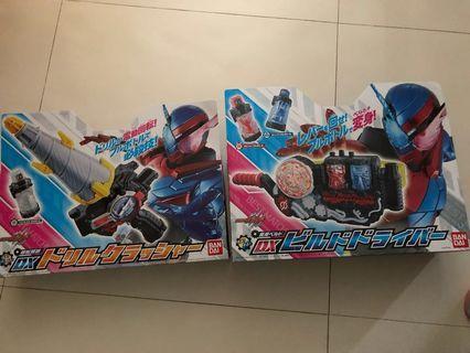 幪面超人Build DX 變身腰帶及武器一套