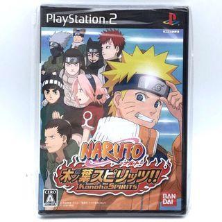 (未開封) 原裝日版 PS2 Game Naruto 火影忍者 木葉之魂 動作遊戲
