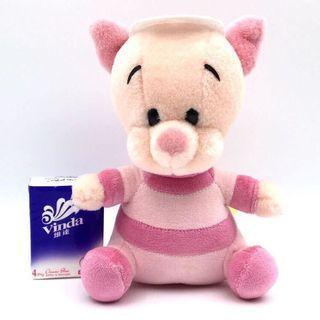 (全新) 購自日本 原裝正品 Disney Winnie the Pooh Piglet 迪士尼 小熊維尼 小豬公仔 毛公仔