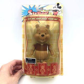 (全新) 購自日本 原裝正品 Disney Winnie the Pooh 迪士尼 小熊維尼 彈弓公仔 景品擺件