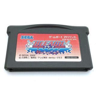 (淨帶) (中古) 原裝日版 GameBoy GBA Game Bleach 死神 染紅的屍魂界 動作遊戲