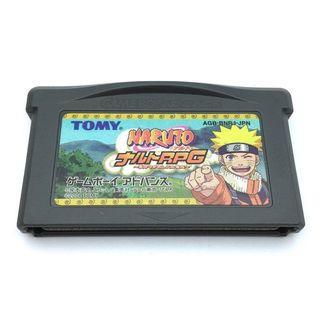 (淨帶) (中古) 原裝日版 GameBoy GBA Game Naruto RPG 火影忍者 繼承火的意志