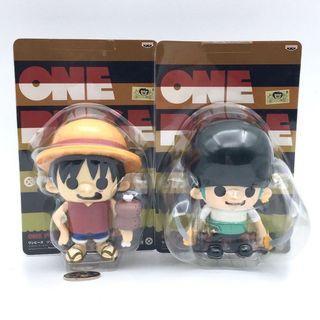 (全新) 購自日本 原裝正品 BANPRESTO One Piece Figure 海賊王 Q版懷舊公仔