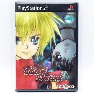 (中古) 原裝日版 PS2 Game Tales of Destiny 2 命運傳奇 角色扮演遊戲