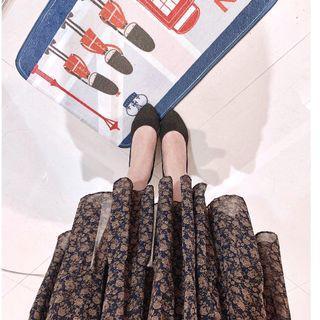 黑色高跟鞋細跟_跟高5cm_23號(只穿過畢展一次)