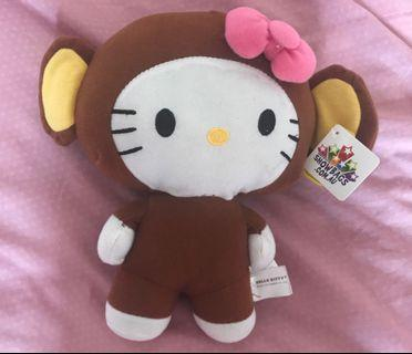Sanrio Fiesta Hello Kitty Monkey Plush Toy