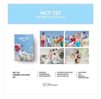 [PREORDER] NCT 127 SUMMER VACATION KIT
