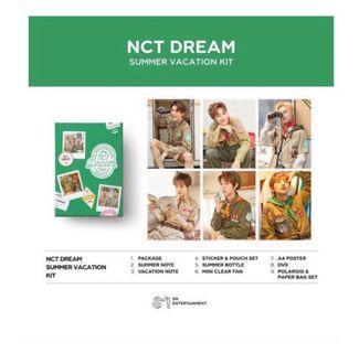 [PREORDER] NCT DREAM SUMMER VACATION KIT