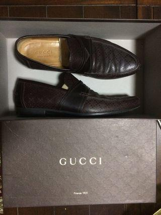 Authentic Gucci Hillary Lux Diamante Loafers