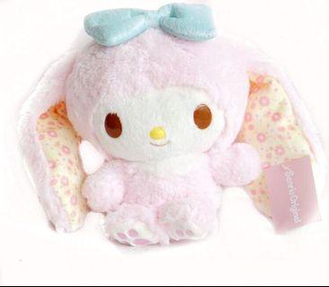 Sanrio My Melody Pink Bunny Rabbit Plush Toy