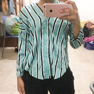 [New] Stripes Blouse
